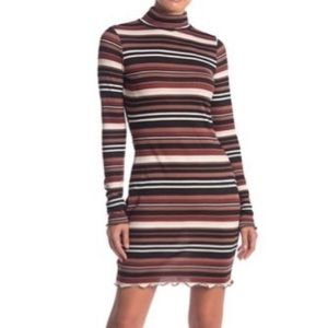 NWT Free Press Mock Turtleneck Dress